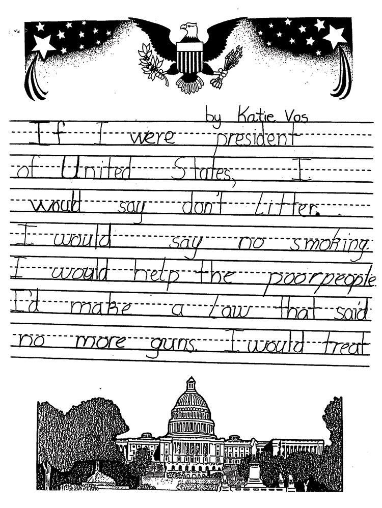 celebrating presidents day in the primary grades thoughtful  if i were president