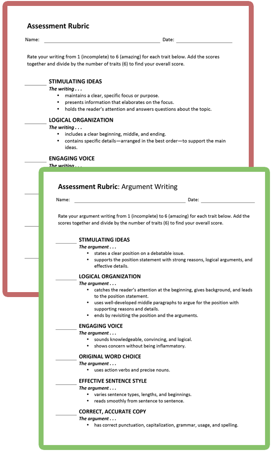 Writing Assessment for Teachers | Thoughtful Learning K-12