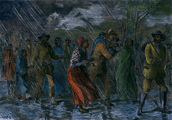 Image of the underground railroad