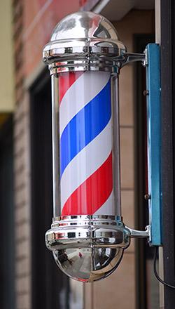 American barber pole