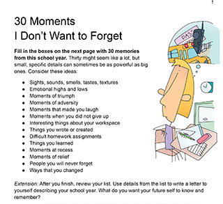 30 Moments I Don't Want to Forget
