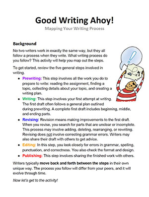 Mapping Your Writing Process