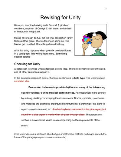 Revising to Elaborate Ideas Activity