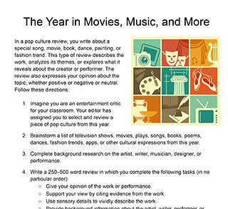 The Year in Movies, Music, and More