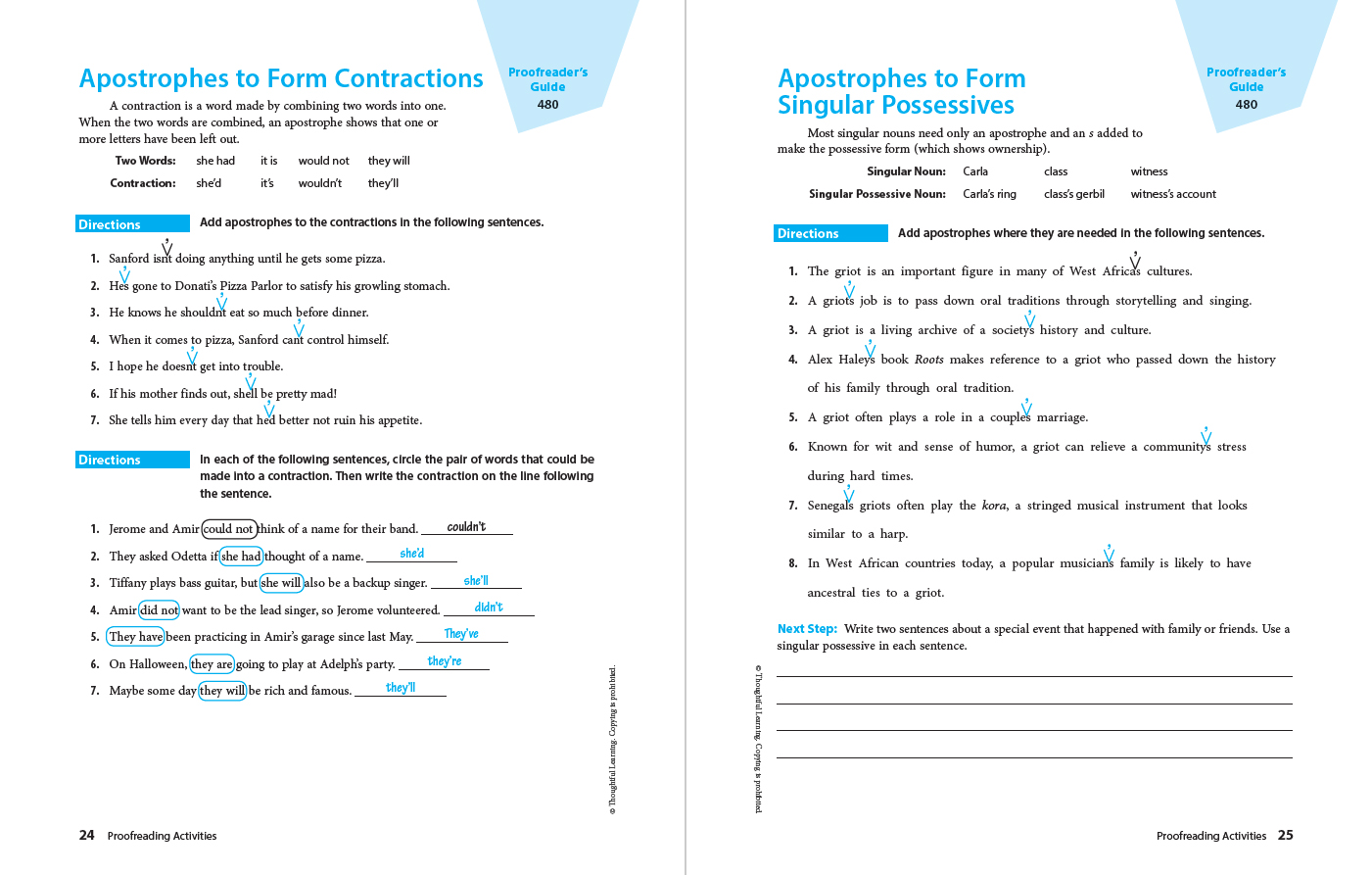 Write Ahead SkillsBook Grade 9 Page 24
