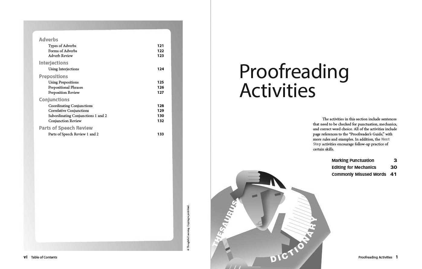 Write Ahead SkillsBook Grade 9 Page vi