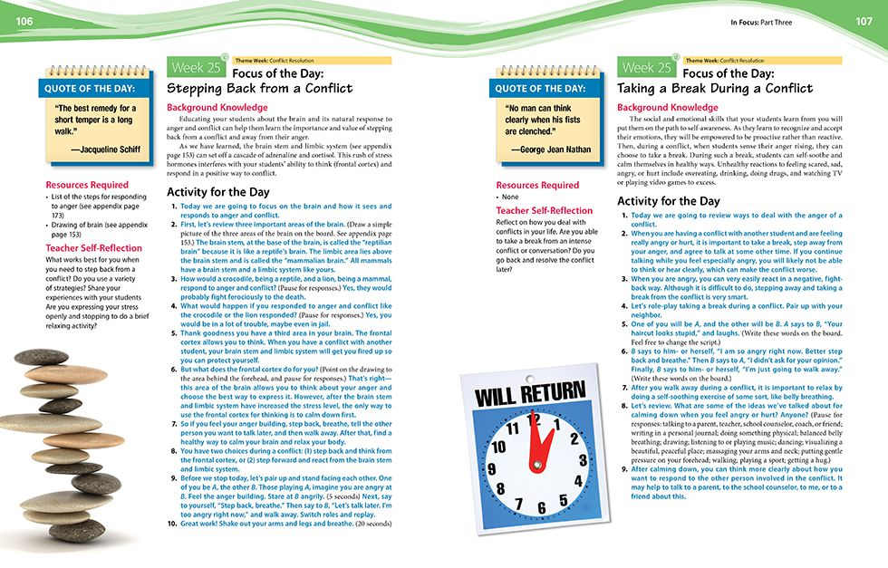 In Focus (Grades 3-5) Pages 106 and 107