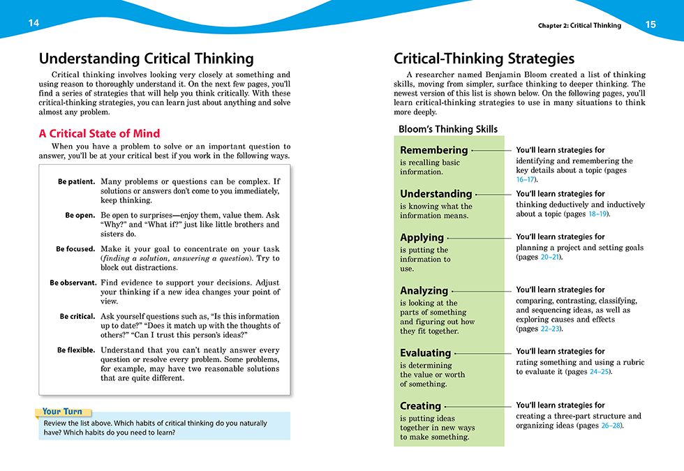 evaluating arguments critical thinking