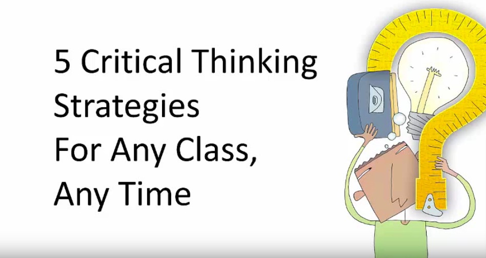 Significance of critical thinking in learning