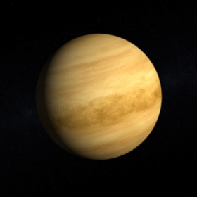 An image of the planet Venus