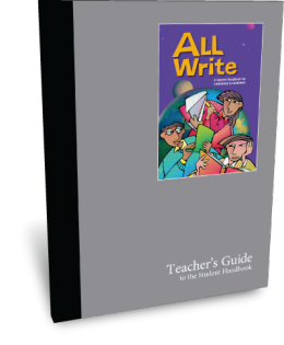 All Write Teacher's Guide