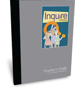 Inquire High School Teacher's Guide Cover