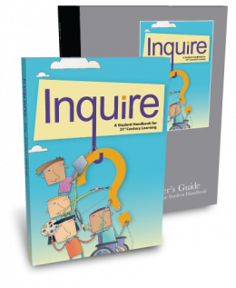 Inquire Online Middle School Classroom Set 3-year