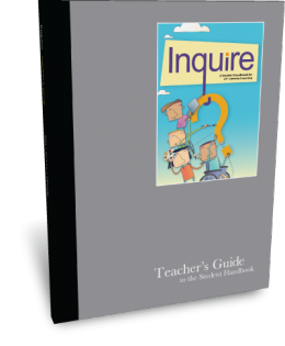 Inquire Middle School Teacher's Guide Cover