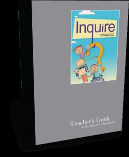 Inquire Middle School Teacher's Guide Cover