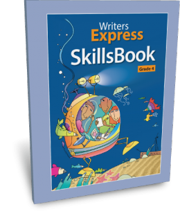 Writers Express Skillsbook (Grade 4)