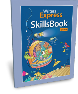 Writers Express Skillsbook (Grade 5)