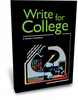 write for college thoughtful learning k  write for college