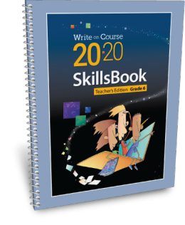 Write on Course 20-20 SkillsBook (6) Teacher's Edition