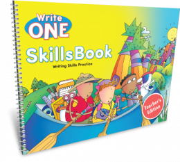 Write One SkillsBook Teacher's Edition