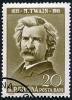 Stamp of Mark Twain