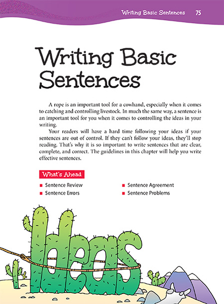 10 Writing Basic Sentences Thoughtful Learning K 12