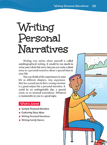 what is a personal narrative story