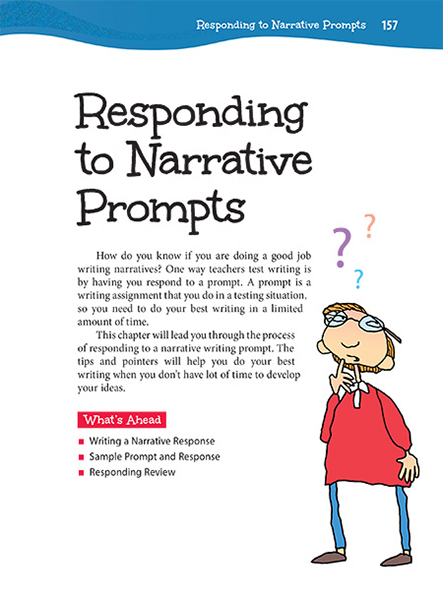 22 Responding to Narrative Prompts | Thoughtful Learning K-12