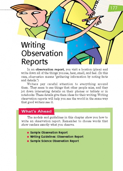 information about report writing