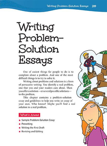 Problem of writing essay