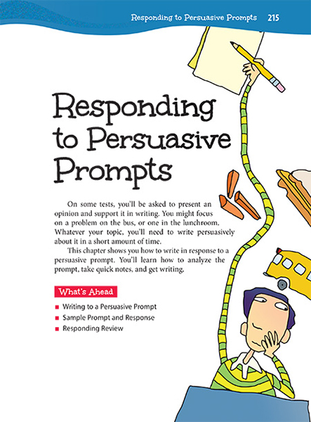 essay persuasive prompt Here are 24 thought-provoking prompts to jump-start persuasive writing the common core standards put a strong emphasis on persuasive writing skills these prompts.