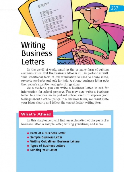 33 Writing Business Letters Thoughtful Learning K 12