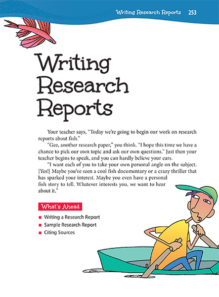writing the research report Focus your efforts on the primary research journals of the references that you actually cited in the body of your paper instructions for writing.