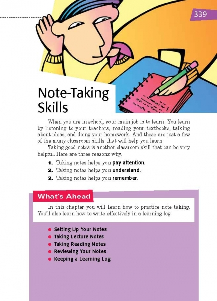 45 Note-Taking Skills | Thoughtful Learning K-12