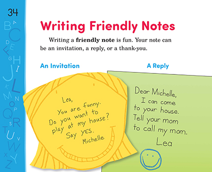 06 Writing Friendly Notes | Thoughtful Learning K-12