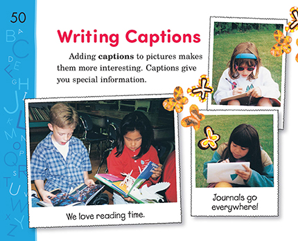 Writing examples caption 264 Creative