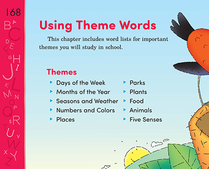 35 using theme words thoughtful learning k 12