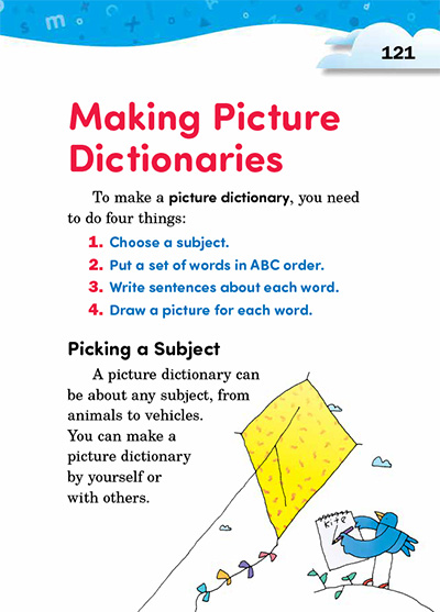 Making Picture Dictionaries