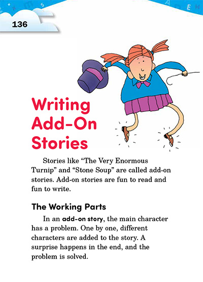 Writing Add-On Stories