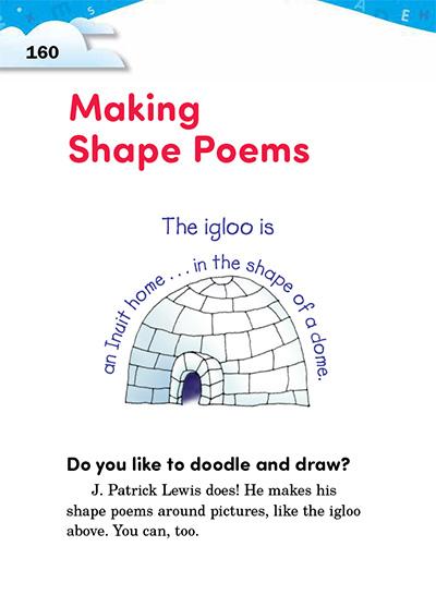 Making Shape Poems