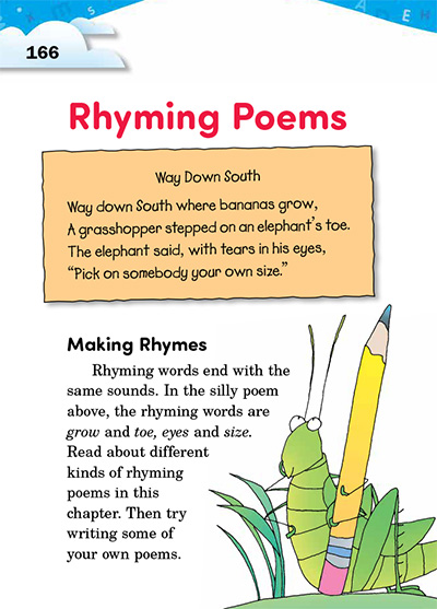 33 Rhyming Poems | Thoughtful Learning K-12