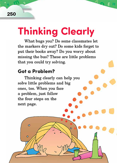 Thinking Clearly Opening Page