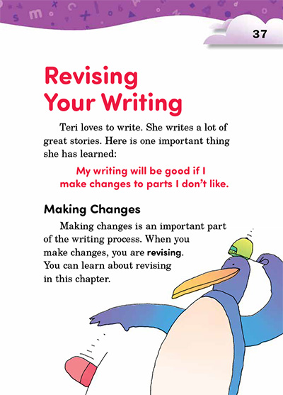 Revising Your Writing Opening Page