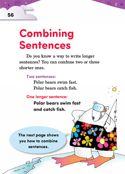 Combining Sentences Opening Page