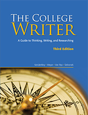 The College Writer Cover