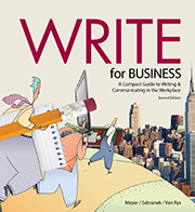 Write for Business Cover
