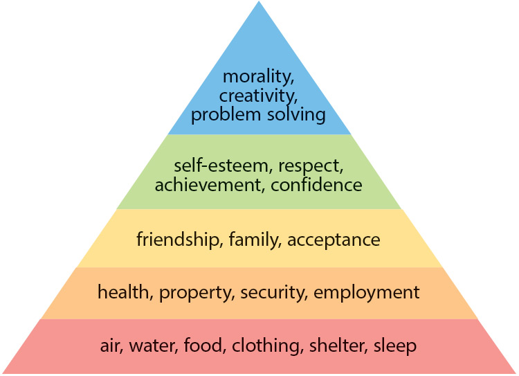 Basic Needs Pyramid